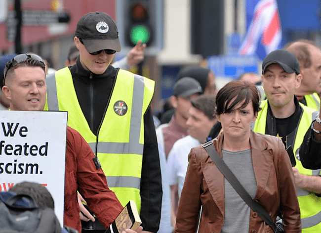 Lennon and Waters on Pegida patrol.