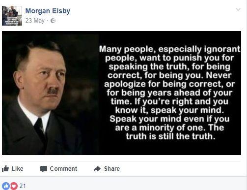 Morgan Elsby Hitler