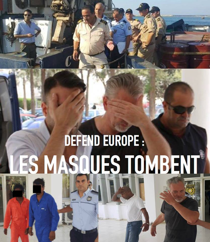 """Owner and crew of Defend Europe ship arrested over """"people smuggling"""