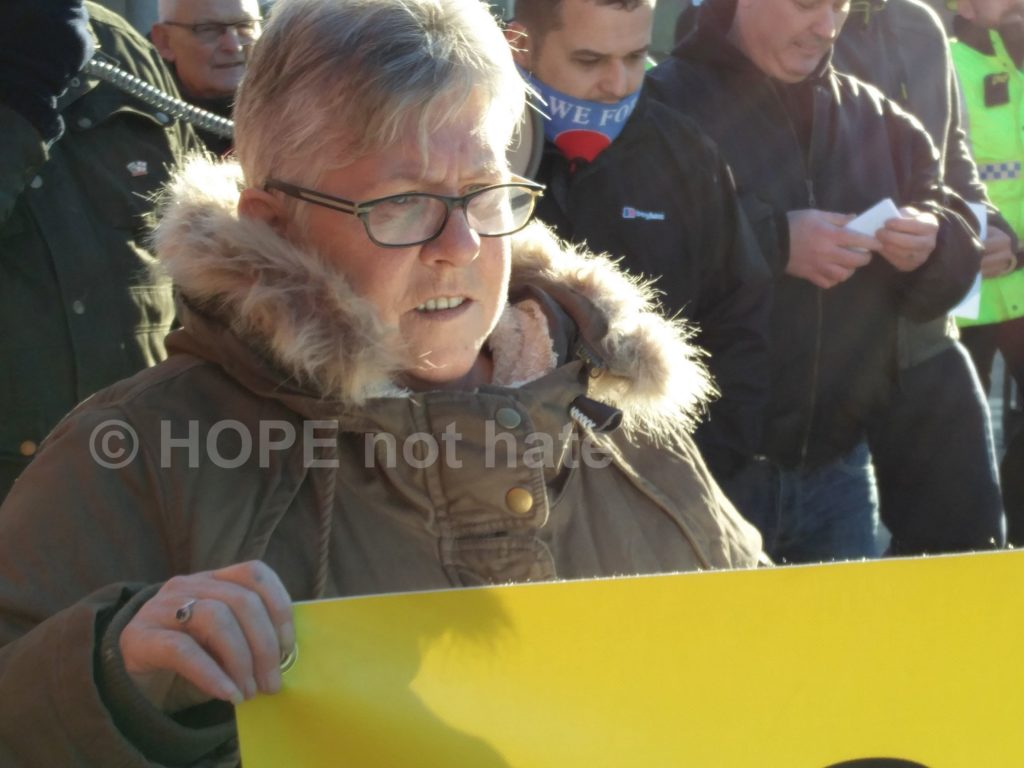 Far right protest Bolton