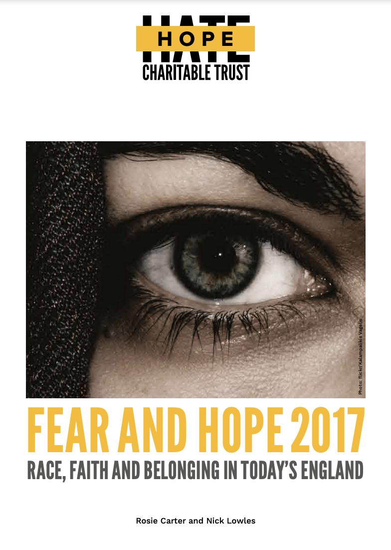 FEAR & HOPE: RACE, FAITH, AND BELONGING