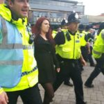Jayda Fransen arrested