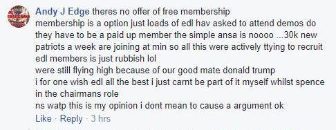 EDL thug Andrew Edge