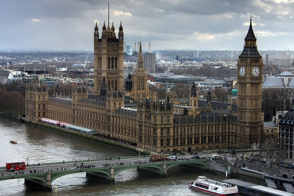 a picture of Westminster Palace, London
