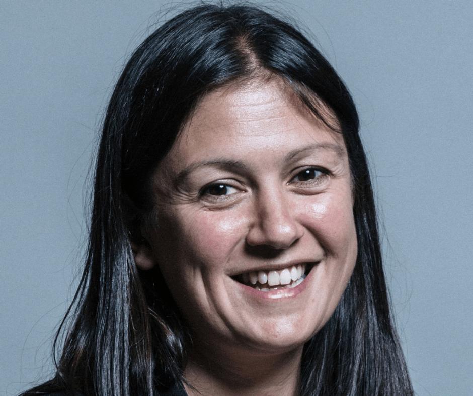 portrait photo of Lisa Nandy MP smiling