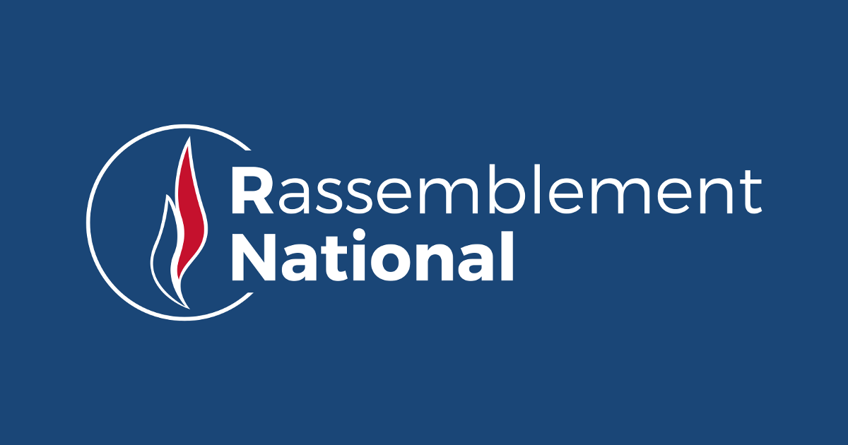Rassemblement National (RN)'s logo