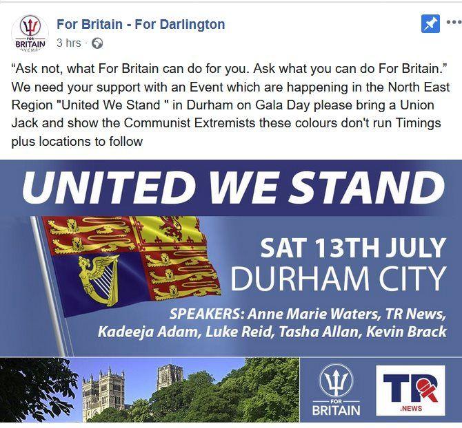 For Britain Durham