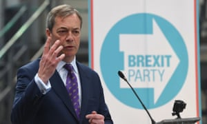 The Brexit party has announced at least five candidates for the European elections, including Farage himself.