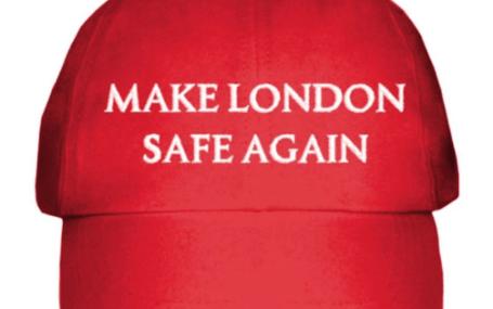 Make London Safe Again MAGA cap