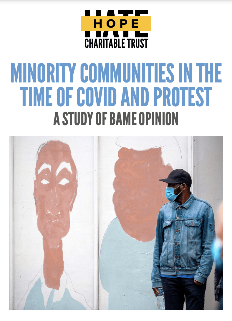 MINORITY COMMUNITIES IN THE TIME OF COVID AND PROTEST