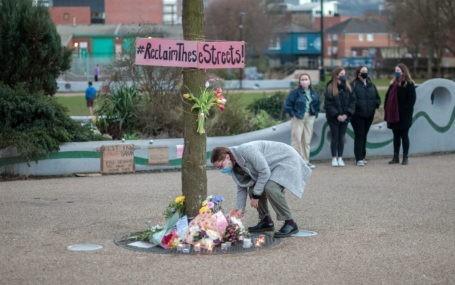 Reclaim These Streets Vigil