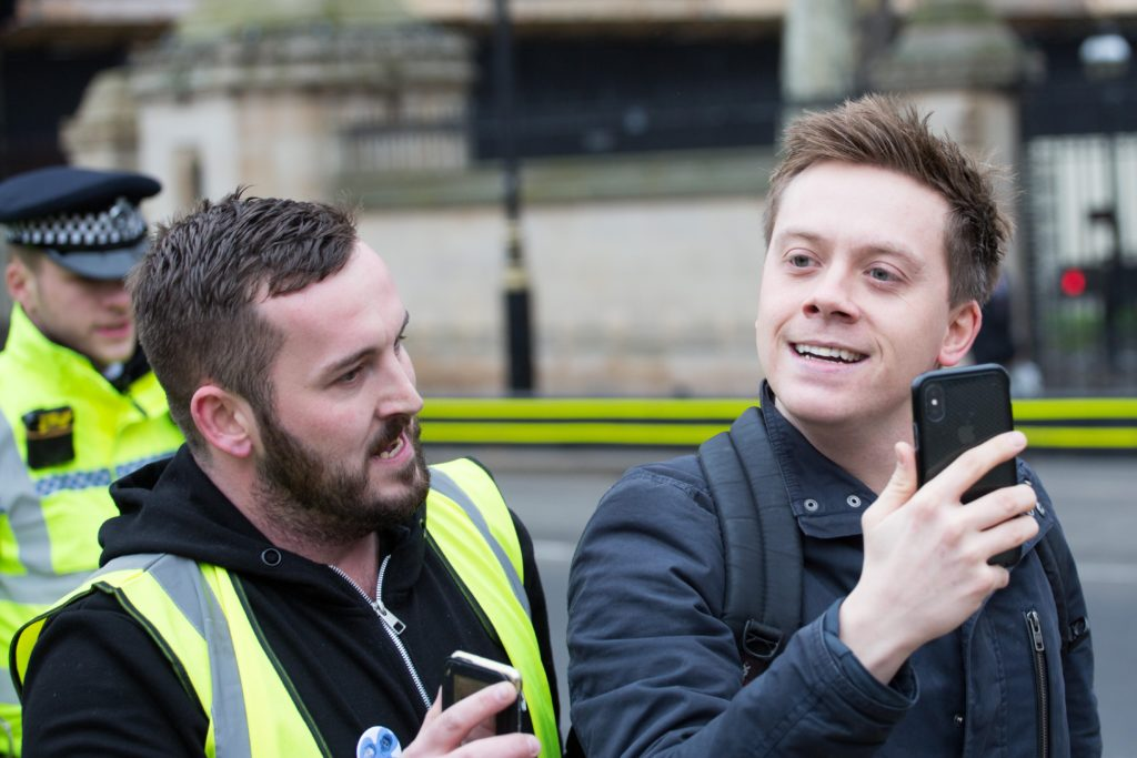 A picture of James Goddard and Owen Jones