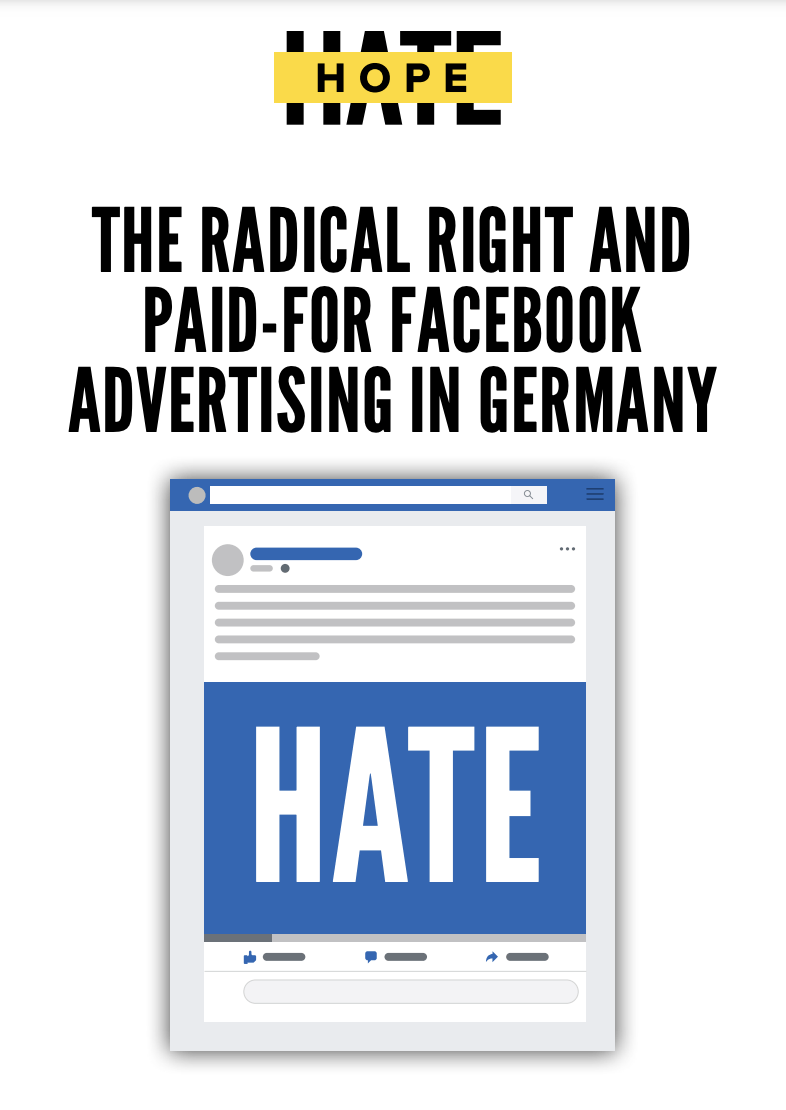 THE RADICAL RIGHT AND PAID-FOR FACEBOOK ADVERTISING IN GERMANY