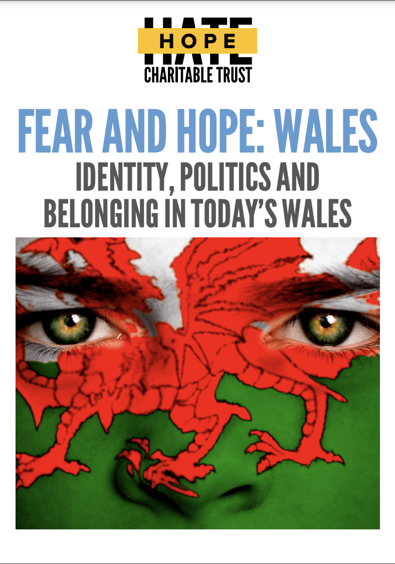 Cover of Fear and HOPE: Wales