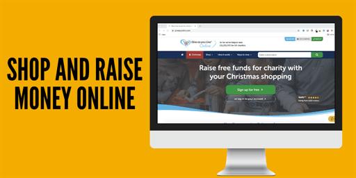 Shop and raise money online