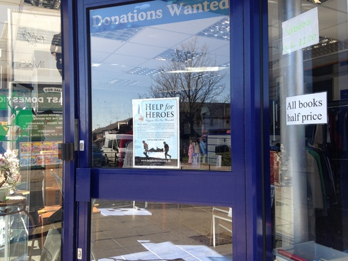 Closed today for demo: But open to racism