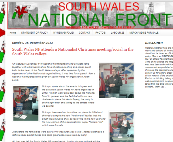 Blog: What South Wales NF wanted you to see
