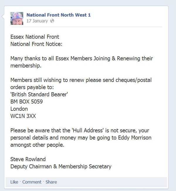 NF: Southern faction is concerned