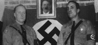 John Tyndall (left): formed the BNP in his own image