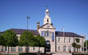 Newtownards Town Hall by day