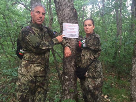 Edwin Wagensveld & Tatjana Festerling who started the patrols